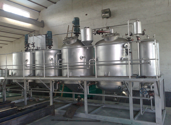 How about the processing capacity of Doing Company edible oil refinery plant?