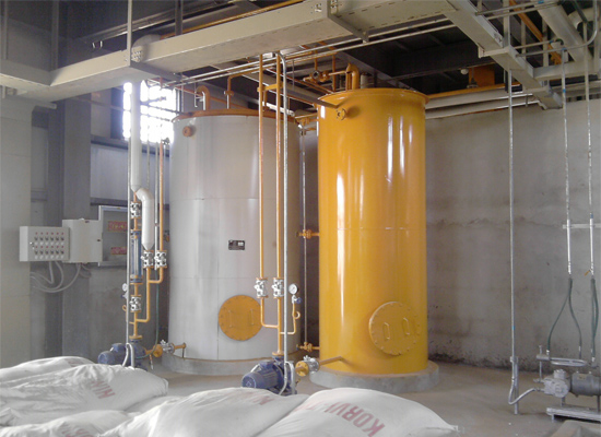 Semi-continuous Vegetable Oil Refinery