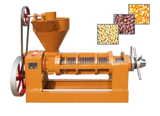 Cottonseed oil press machine