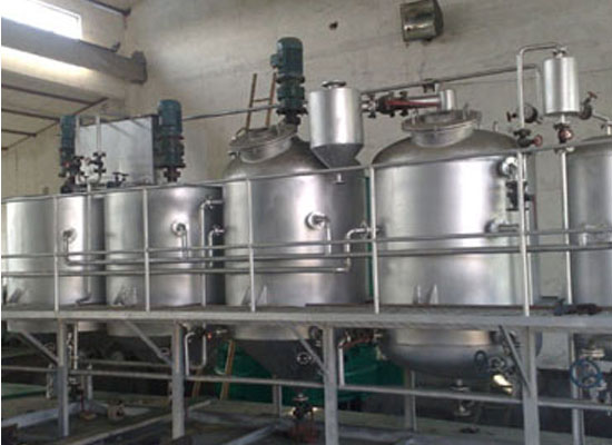 Each section introduction of our crude oil refining process