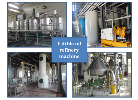 Crude cooking oil refining machine manufacturer