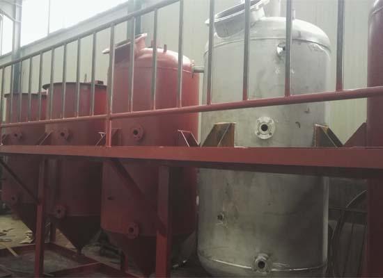 palm oil refining plant