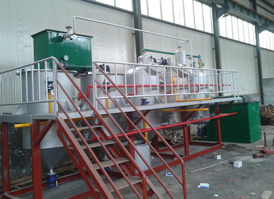 2t/day batch type cooking oil refinery plant
