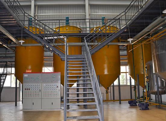 peanut oil refining line