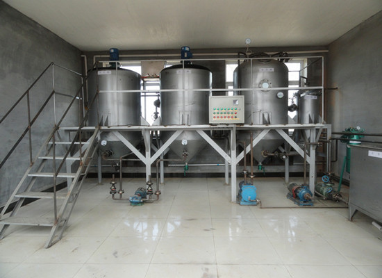 Soybean oil refining machine price