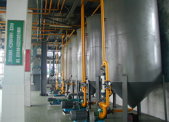 20-50tpd edible oil refinery production machine