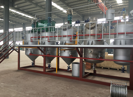 1-20TPD edible oil refining equipment plant