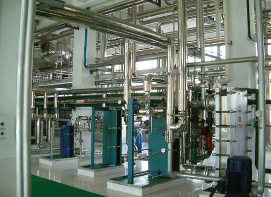 Rice bran oil refining production line