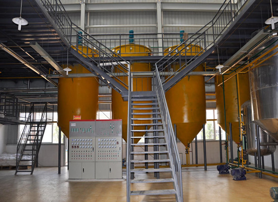 Physical and chemical edible oil refining machine