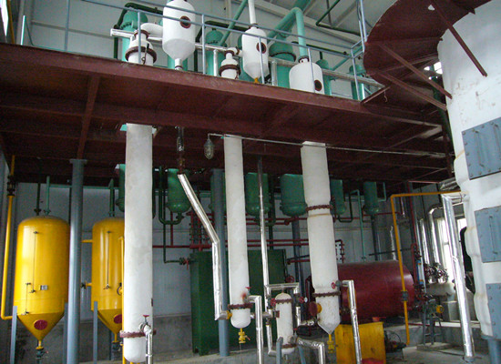 Soybean oil solvent extraction project