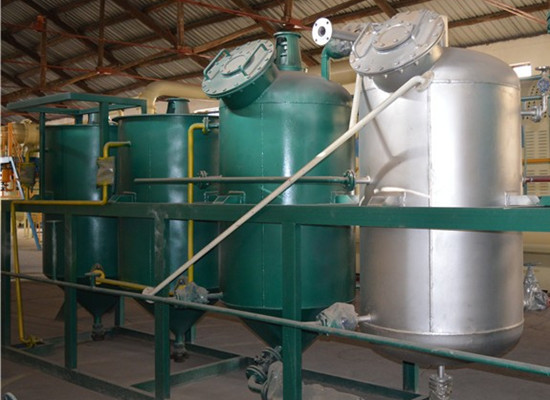 Cotton seeds oil refining production line