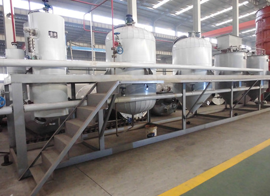 30-50tpd vegetable oil refinery plant