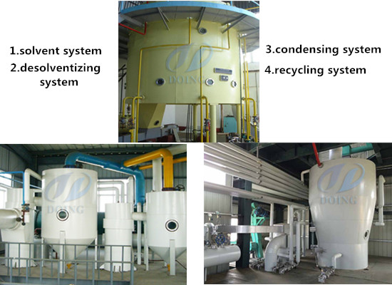 Rotocel extractor equipment for oil solvent extraction plant