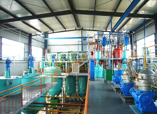 1-20 T/D cooking oil refining plant