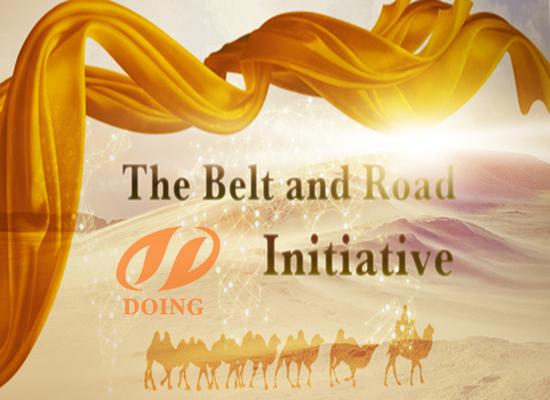 With the development of the Belt and Road, Doing Company hope bringing more benefits to customers