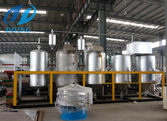 Edible oil refinery equipment maintenance rules