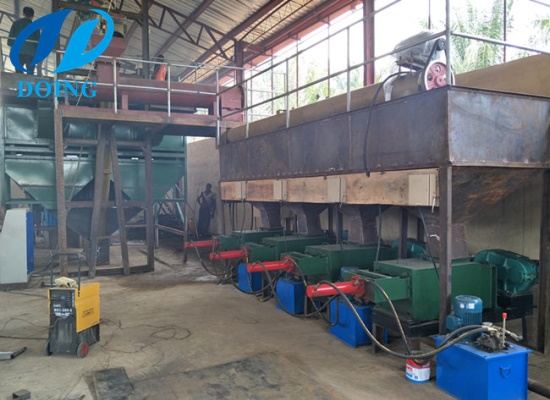Nigeria 3tph palm oil processing plant project successfully installed and put into production