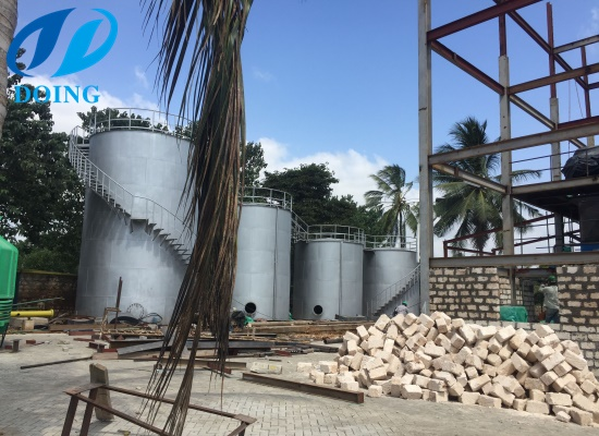 Palm refinery project in Congo