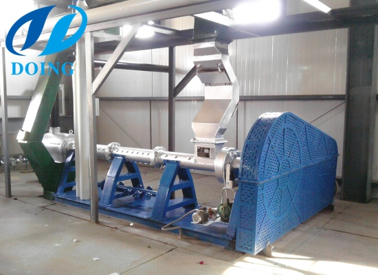 Kazakhstan customer's soybean extrusion machine is packed to deliver