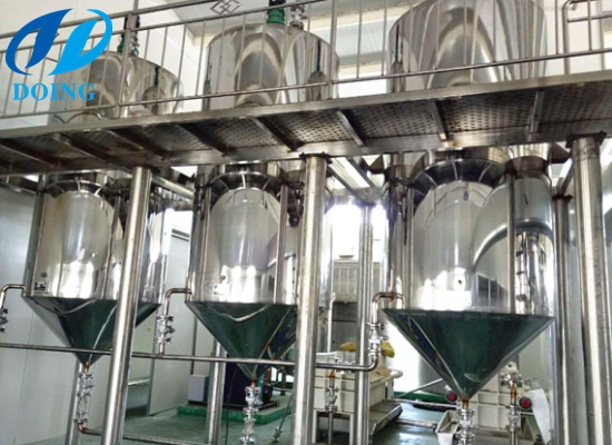 1-20TPD small sunflower oil refinery plant