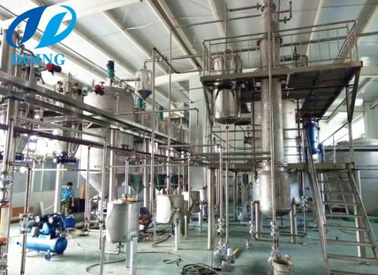 5tpd small coconut oil refinery plant project in Peru