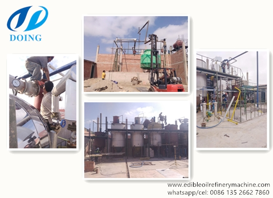 20TPD olive oil refinery plant project report in Peru