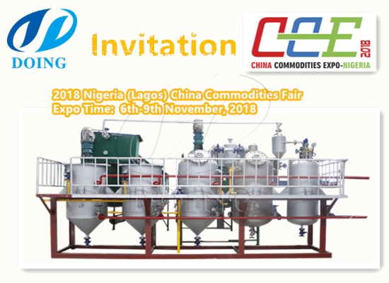 6th November, Henan Doing Company wait for you at 2018 Nigeria (Lagos) China Commodities Fair