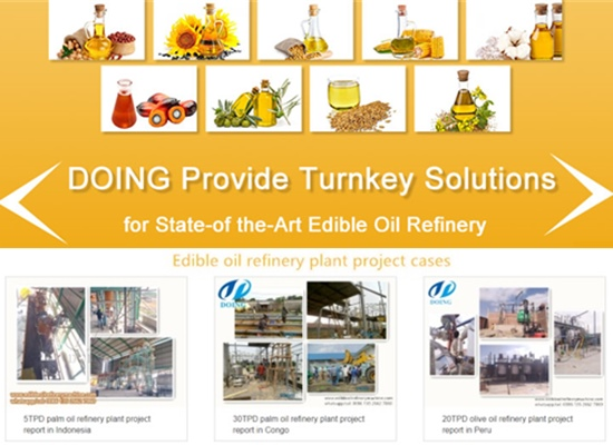How to choose edible oil refinery plant manufacturers?