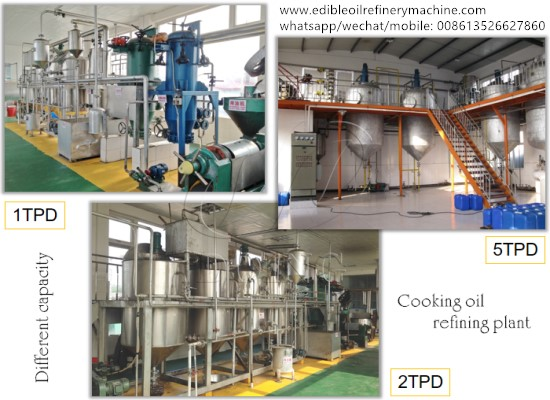 What should I do if I wish to extend my cooking oil refining plant?