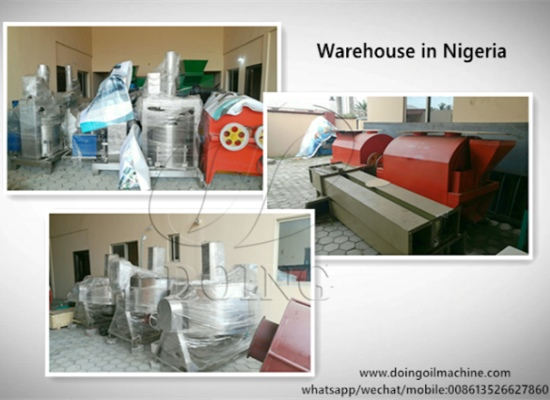 Welcome you to visit DOING Company's Nigerian Branch and warehouse
