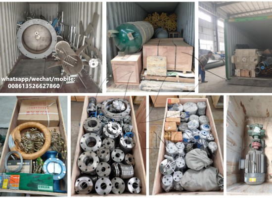 30tpd palm oil refinery equipment has been loaded and going to be delivered to Uganda
