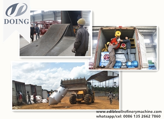 2TPD palm oil refinery plant project report in Liberia