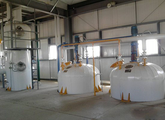 vegetable oil refining machinery