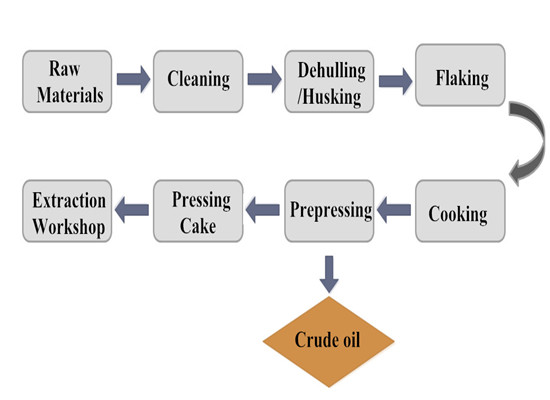 cottonseed process flow