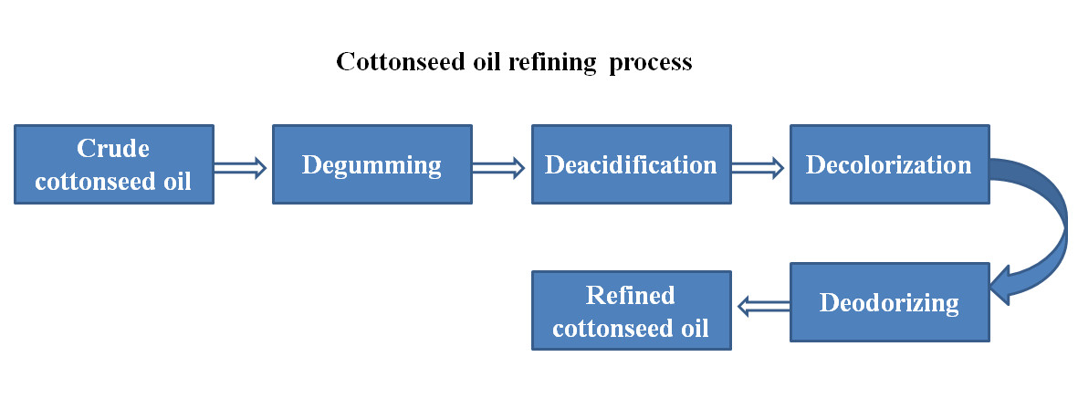 cottonseed oil refining process