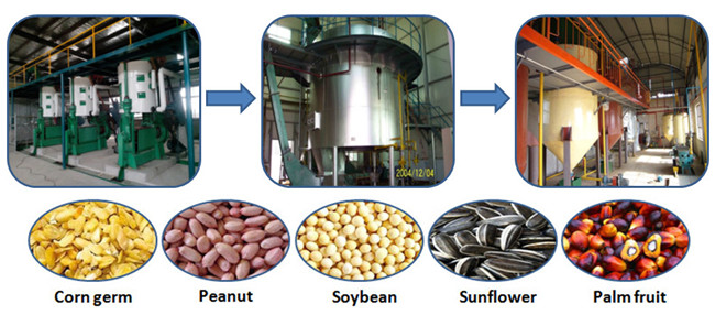 sunflower seed oil production machine