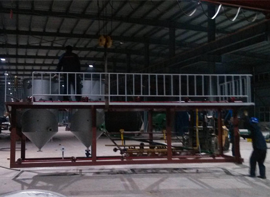 load of palm kernel oil refining machine