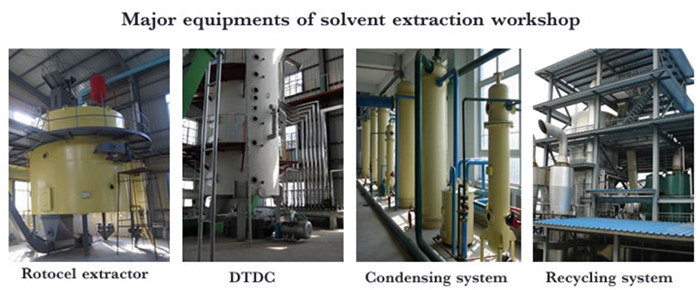 rapeseed oil solvent extraction machine