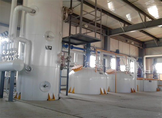 semi continuous type refinery plant