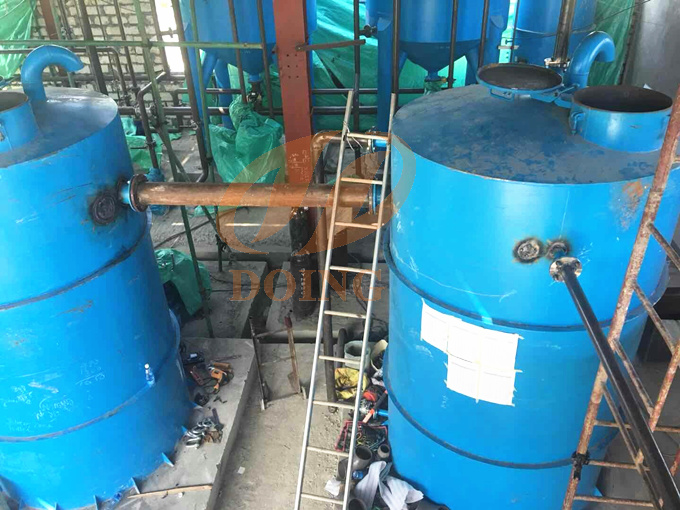 palm oil refining machine