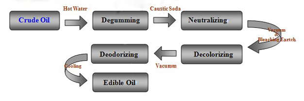edible oil refinery cost