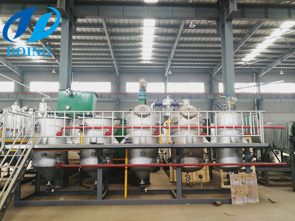 cottonseed oil refinery machine