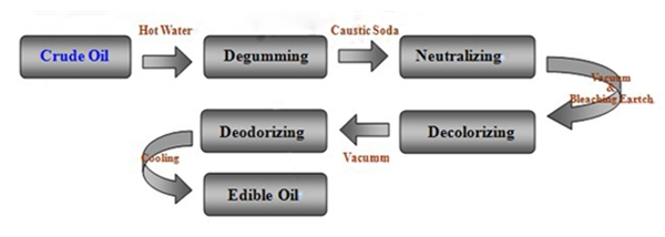 small scale edible oil refining process