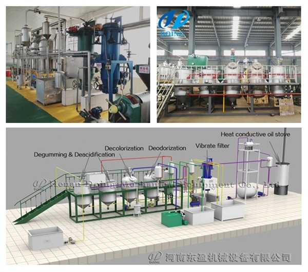 small edible oil refinery