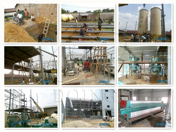 palm oil refinery plant project in congo