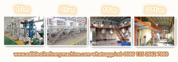 rapeseed oil refinery machine