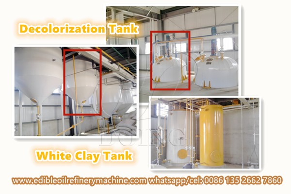 edible oil refinery machine