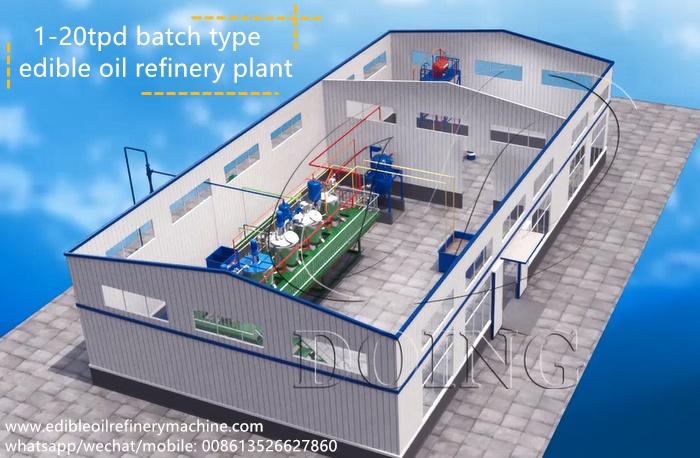 mini soybean oil refinery