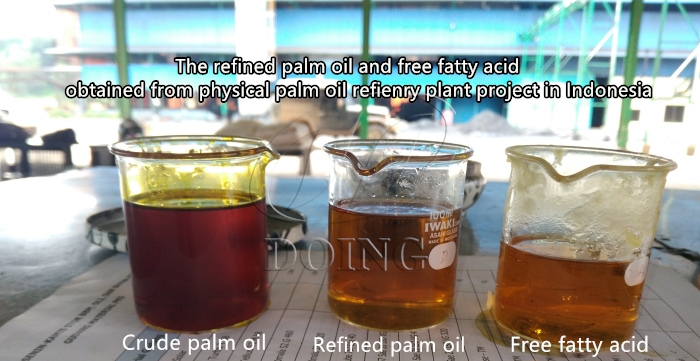 products of palm oil refining